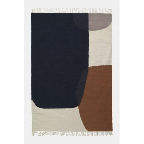 ferm LIVING / Vlnený koberec Merge Kelim Rug 160 x 250 cm