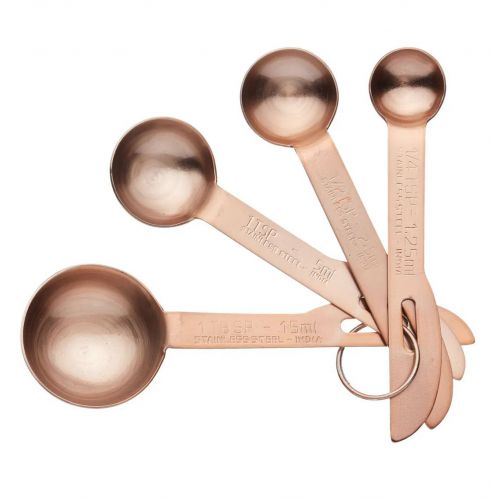 Kitchen Craft / Odmerky MasterClass Copper - set 4 ks