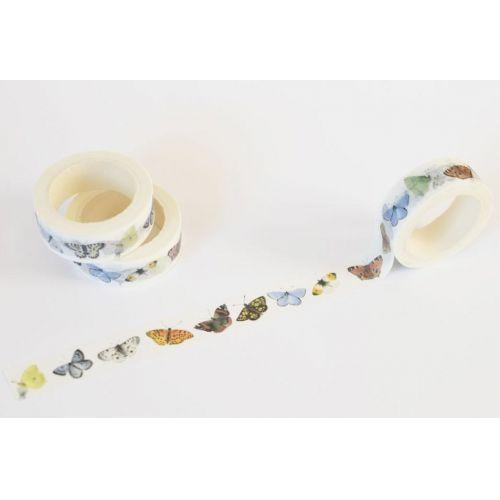 MANKAI Paper / Samolepiaca washi páska Motýle