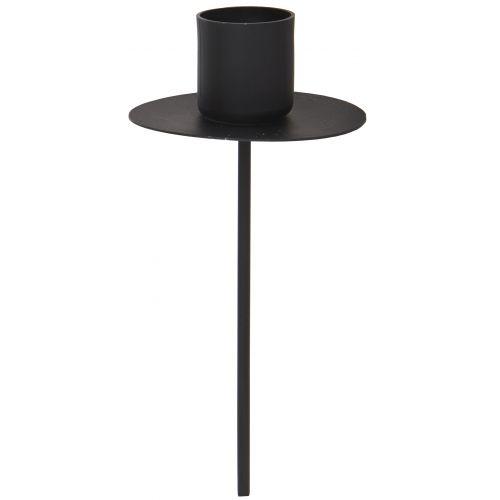 IB LAURSEN / Zapichovací svietnik - čierny