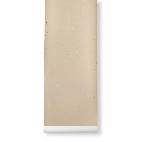 ferm LIVING / Tapeta Confeti Rose/Gold