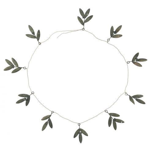 IB LAURSEN / Vianočná zinková reťaz Mistletoe Zinc 140 cm