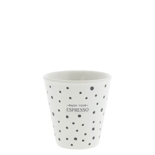 Bastion Collections / Keramická šálka na espresso Enjoy Your Espresso 50 ml