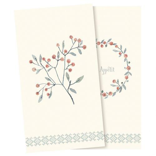 Maileg / Papierové obrúsky Winter Berries