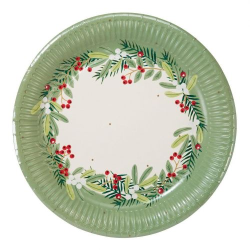 Talking Tables / Papierové tanieriky Berry - 8 ks