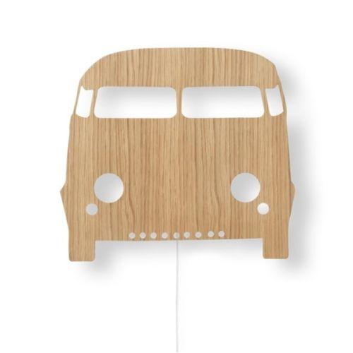 ferm LIVING / Detská LED lampička Oak Car Lamp
