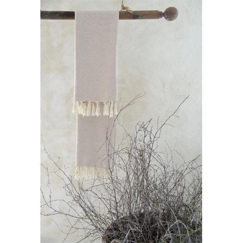 Jeanne d'Arc Living / Uterák z recyklovanej bavlny Cream 50x100 cm