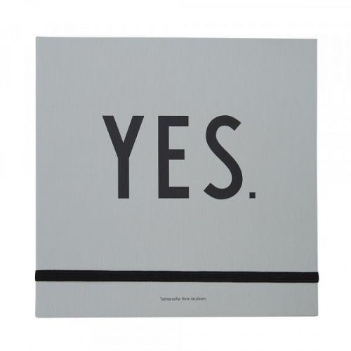 DESIGN LETTERS / Svadobná plánovacia kniha Yes, for ever!