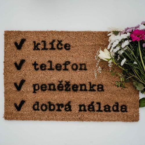 Artsy Doormats / Rohožka Checklist
