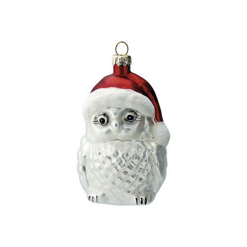 GREEN GATE / Vianočná ozdoba Owl White