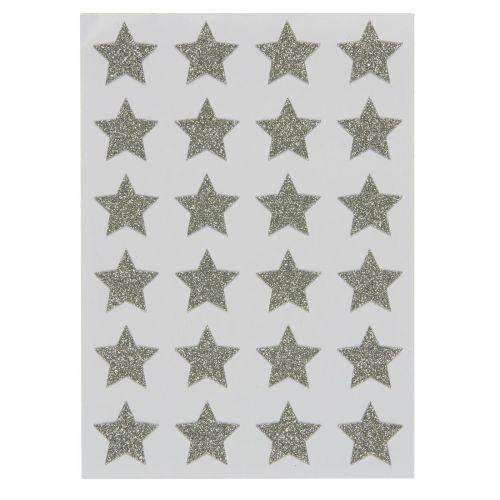 IB LAURSEN / Vianočné samolepky Silver Star