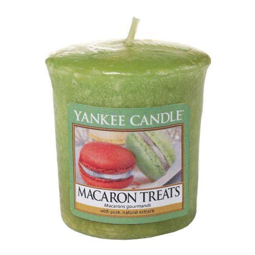 Yankee Candle / Votívna sviečka Yankee Candle - Makrónky