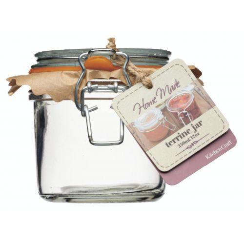 Kitchen Craft / Zavárací pohár s klipsom 350ml