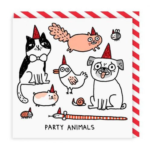 Ohh Deer / Prianie s obálkou Party Animals