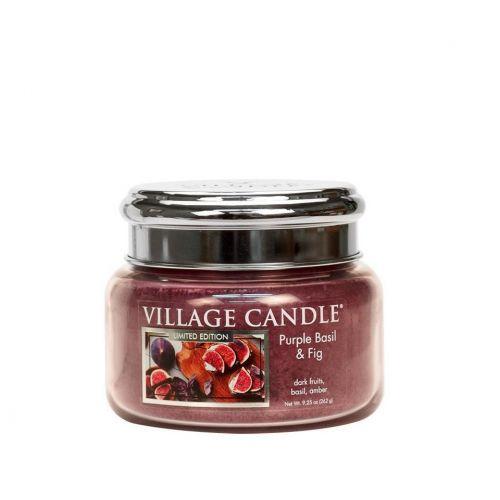 VILLAGE CANDLE / Sviečka Village Candle - Purple Bazil & Fig 262g
