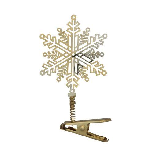 pluto produkter / Vianočná ozdoba na klipse Snowflake