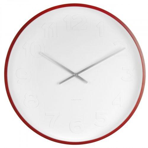 Karlsson / Nástenné hodiny Mr. White 51cm