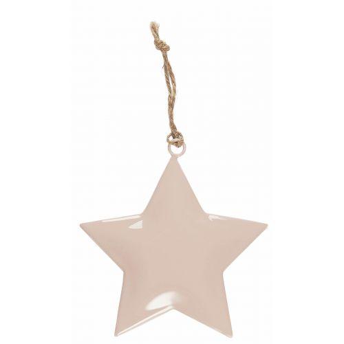 IB LAURSEN / Dekoratívna hviezdička Metal Pink