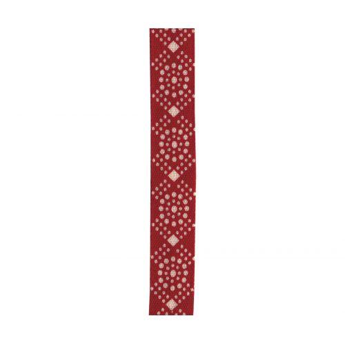 Maileg / Bavlněná stuha Red/white dots