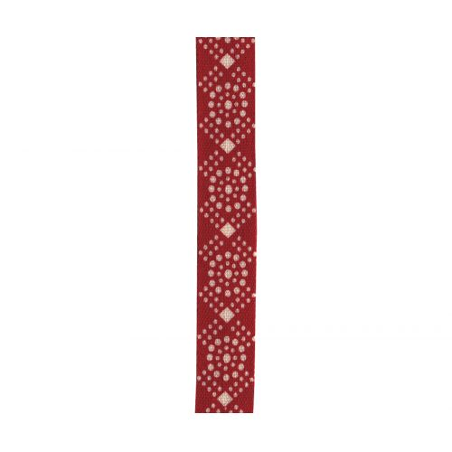 Maileg / Bavlnená stuha Red/white dots