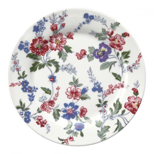 GREEN GATE / Porcelánový tanier Isobel White