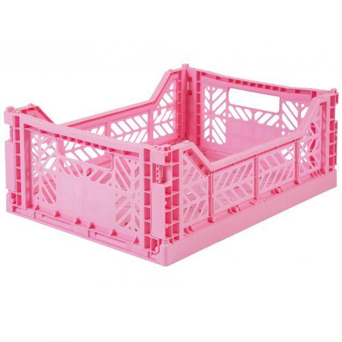 Ay-Kasa / Skladacia prepravka Baby Pink – medium