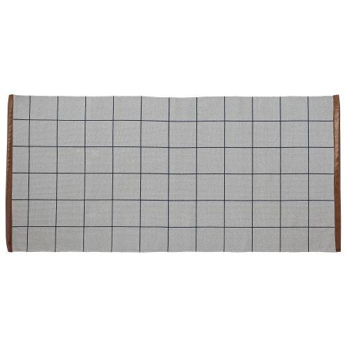 Bloomingville / Bavlnený koberček Cool Grey Checks