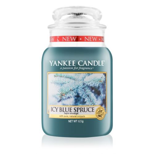 Yankee Candle / Sviečka Yankee Candle 623 gr - Icy Blue Spruce
