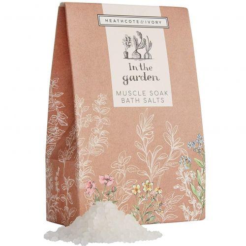 HEATHCOTE & IVORY / Ošetrujúca soľ do kúpeľa In the garden 200g