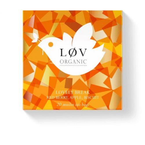 Løv Organic / Sáčkový čaj Lovely Break 20 sáčkov