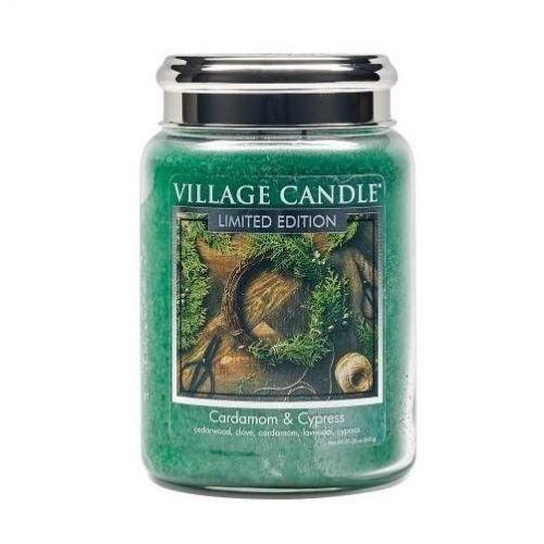 VILLAGE CANDLE / Sviečka Village Candle - Cardamom and Cypress 602g