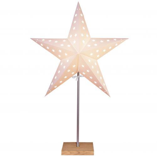 STAR TRADING / Svietiaca hviezda na stojančeku Leo White
