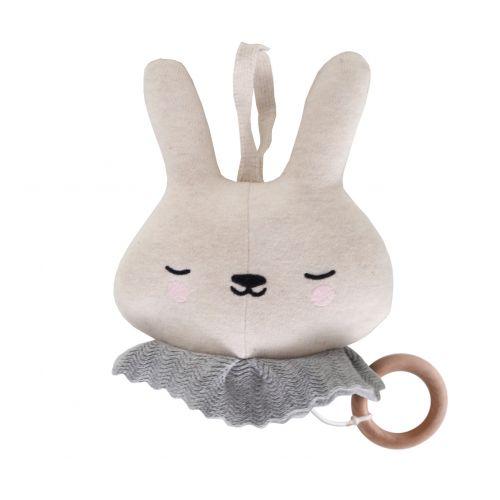 EEF lillemor / Závesná pletená hračka Music Circus Bunny