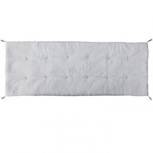 Chic Antique / Bavlnená matrac/sedák Grey Stripes 70 X 180 cm