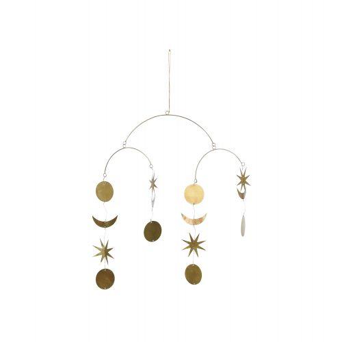 Bloomingville / Závesná dekorácia - Gold Sky