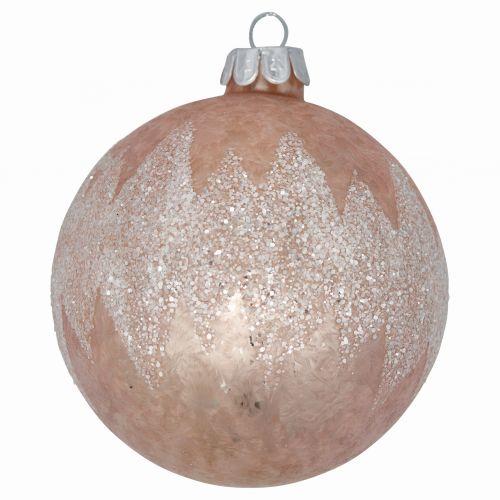 GREEN GATE / Vianočná ozdoba Marley Pale Pink Glitter