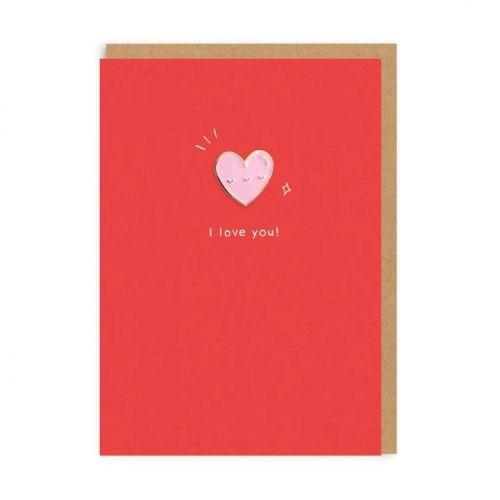Ohh Deer / Prianie z lásky Heart + odznačik