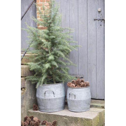 IB LAURSEN / Plechový obal na kvetináč Flower Pot