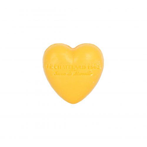 LE CHATELARD / Francouzské mýdlo Heart - Mandarinka a limetka 25gr