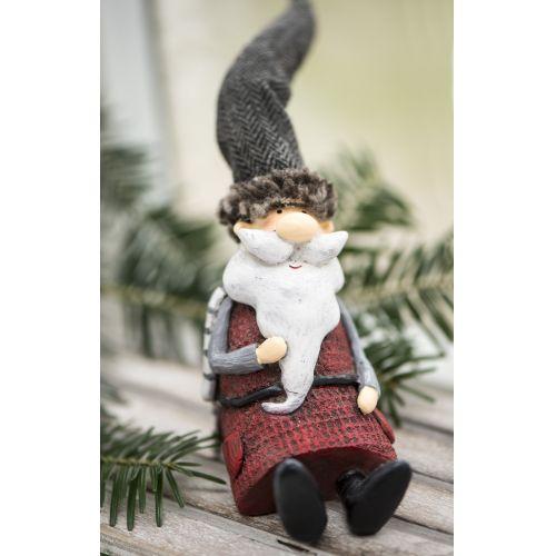 IB LAURSEN / Vánoční figurka Santa Claus Sitting