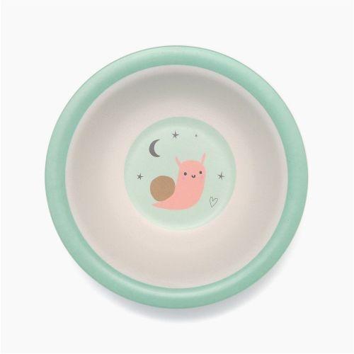 PETIT MONKEY / Bambusová mištička Snail Mint