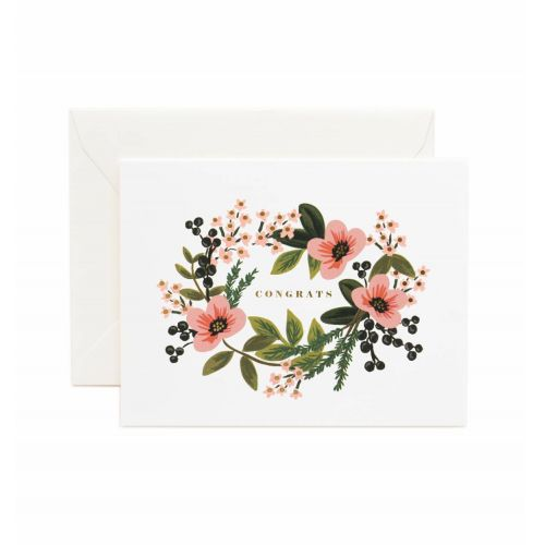 Rifle Paper Co. / Prianie s obálkou Congrats Bouquet