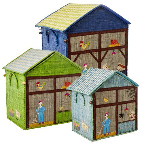 rice / Detský úložný box Farm Theme