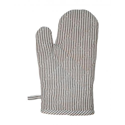 Krasilnikoff / Bavlnená chňapka Grey Stripe