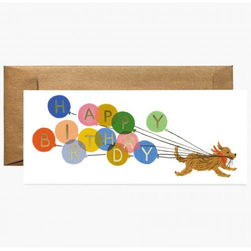 Rifle Paper Co. / Narodeninové prianie s obálkou Balloon