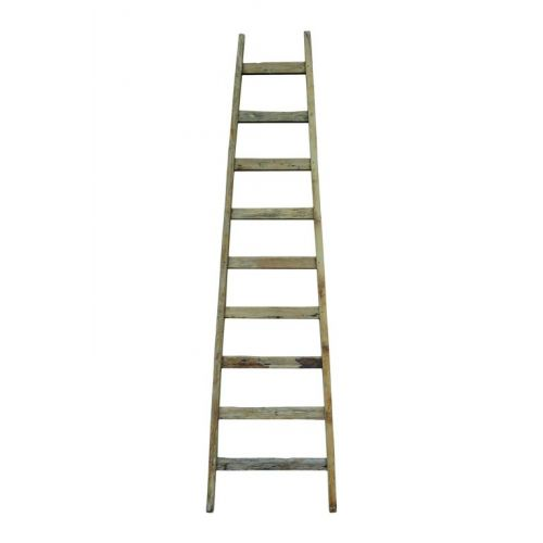 HK living / Dekoratívny rebrík Teak
