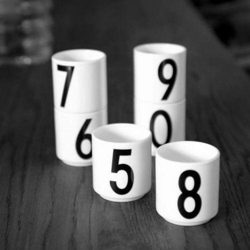 DESIGN LETTERS / Espresso hrnček Letters - Number