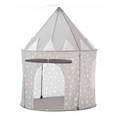 Kids Concept / Detský stan Grey Star Castle 130 cm
