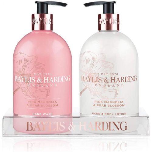 Baylis & Harding / Sada starostlivosti o ruky Pink Magnolia & Pear Blossom