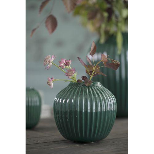 KÄHLER / Keramická váza Hammershøi Green 12,5 cm